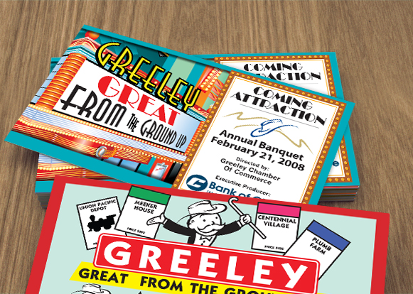 Greeley Chamber of Commerce Postcards