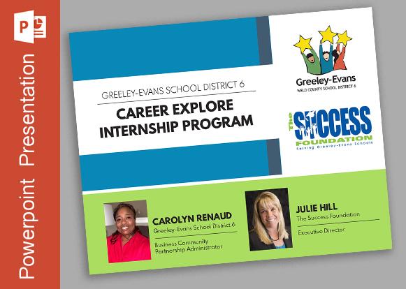 District 6 Career Explore  Internship Program Presentation